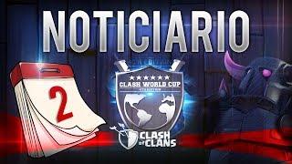 NOTICIARIO-RESUMEN CWC | 2ª Jornada del Mundial de Clash of Clans | Mejores Ataques