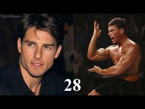 Tom Cruise vs JeanClaude Van Damme Transformation ★ 2018