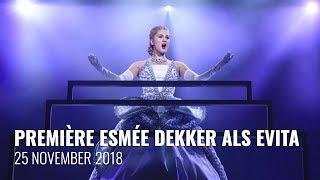 Première Esmée Dekker als Evita in Evita de Musical