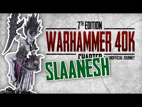 Warhammer 40K Charted: The Chaos Gods Explored – Slaanesh