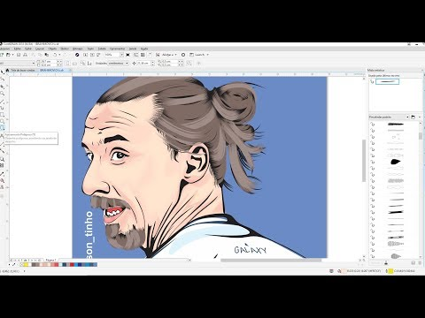 Transformar Foto Em Desenho Caricatura Logomarca Corel Draw