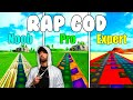 Eminem - Rap God Noob vs Pro vs Expert (Fortnite Music Blocks) - With Code