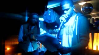 "Jay-Z feat UGK ""Big Pimpin""... Teezy + The Juice Man @HipHopKaraoke"