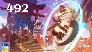 Genshin Impact: Sayu Hangout #4 - Update 2.2 - iOS/Android Gameplay Walkthrough Part 492