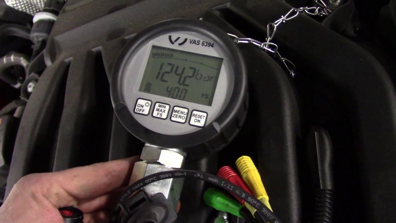 2012 Volkwagen Passat 3 6l (GDI)- P0088 Fuel Rail Pressure Too High