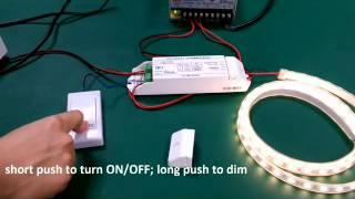 BC-331-10A  0/1-10V LED dimmer, push dimmer
