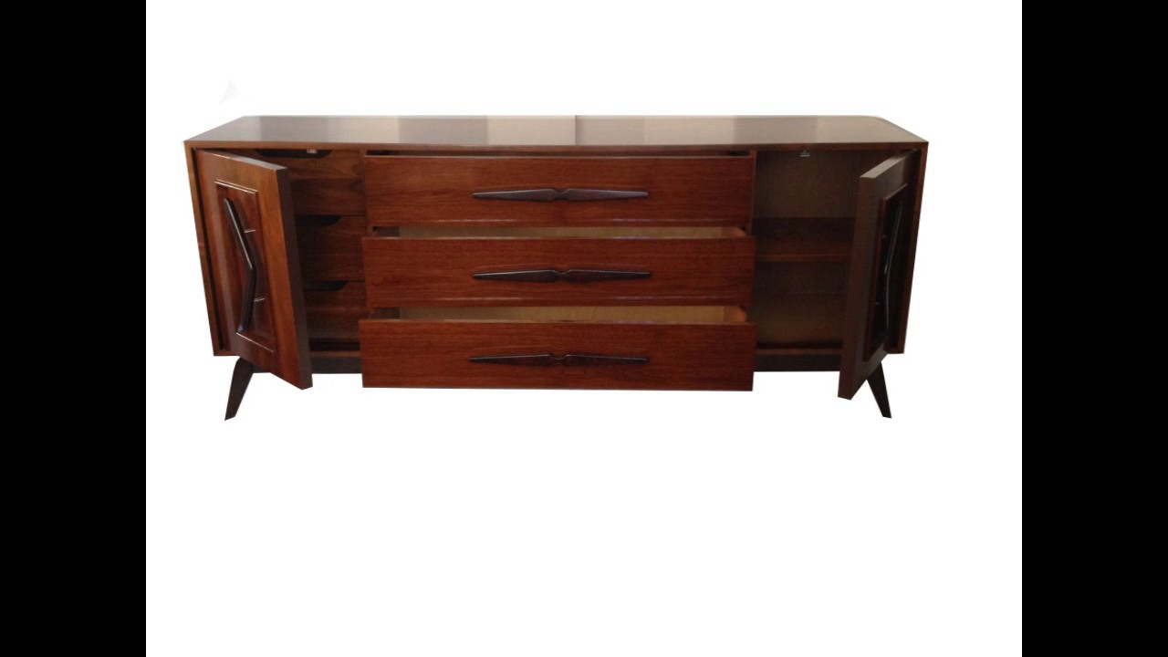 Brooklyn brown mid century furniture 4 less com dresser for Furniture 4 less