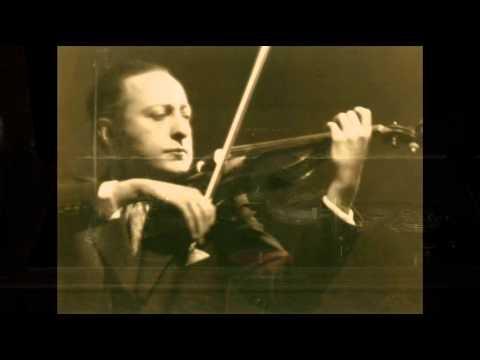 Jascha Heifetz  Schubert : Ave Maria 1926