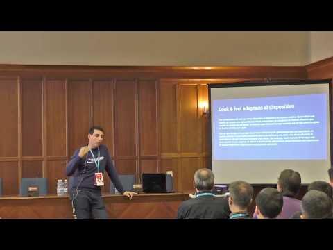 Como crear app móvil con WordPress + Ionic | WordCamp Santander