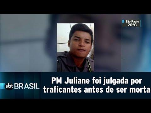 PM Juliane Duarte foi julgada por traficantes antes de ser morta | SBT Brasil (09/08/18)