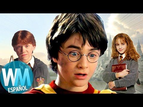¡Top 10 Momentos INOLVIDABLES De Harry Potter!