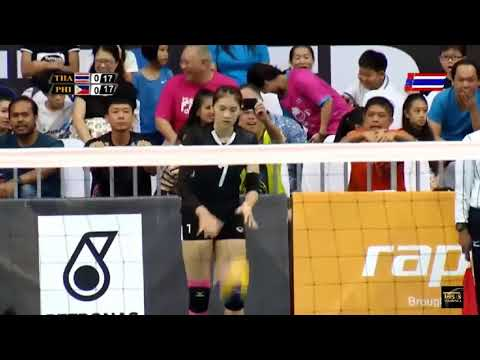 Thailand vs Philippines | 26 August 2017 | Semi Final | Volleyball Women's 29th SEA GAMES