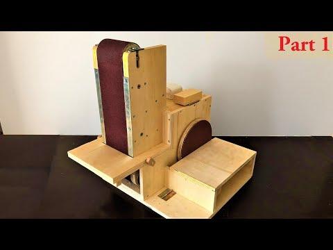 Building The 3 in 1 Sanding Station Part:1 ( Belt Sander, Disc Sander, Edge Sander )