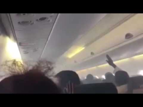 Aero Flight From Port Harcourt To Lagos Filled With Smoke Mid-Air