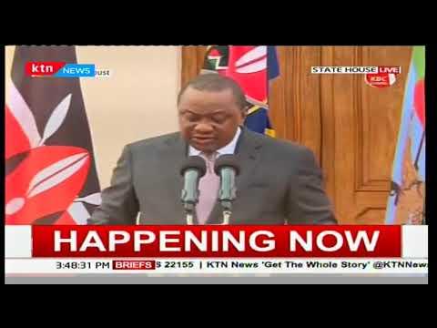 BREAKING: Few surprises as President Uhuru retains Cabinet