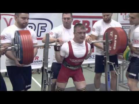 Danilov 325kg & Gladkikh 300kg@66kg. Squat. IPF Worlds 2015.