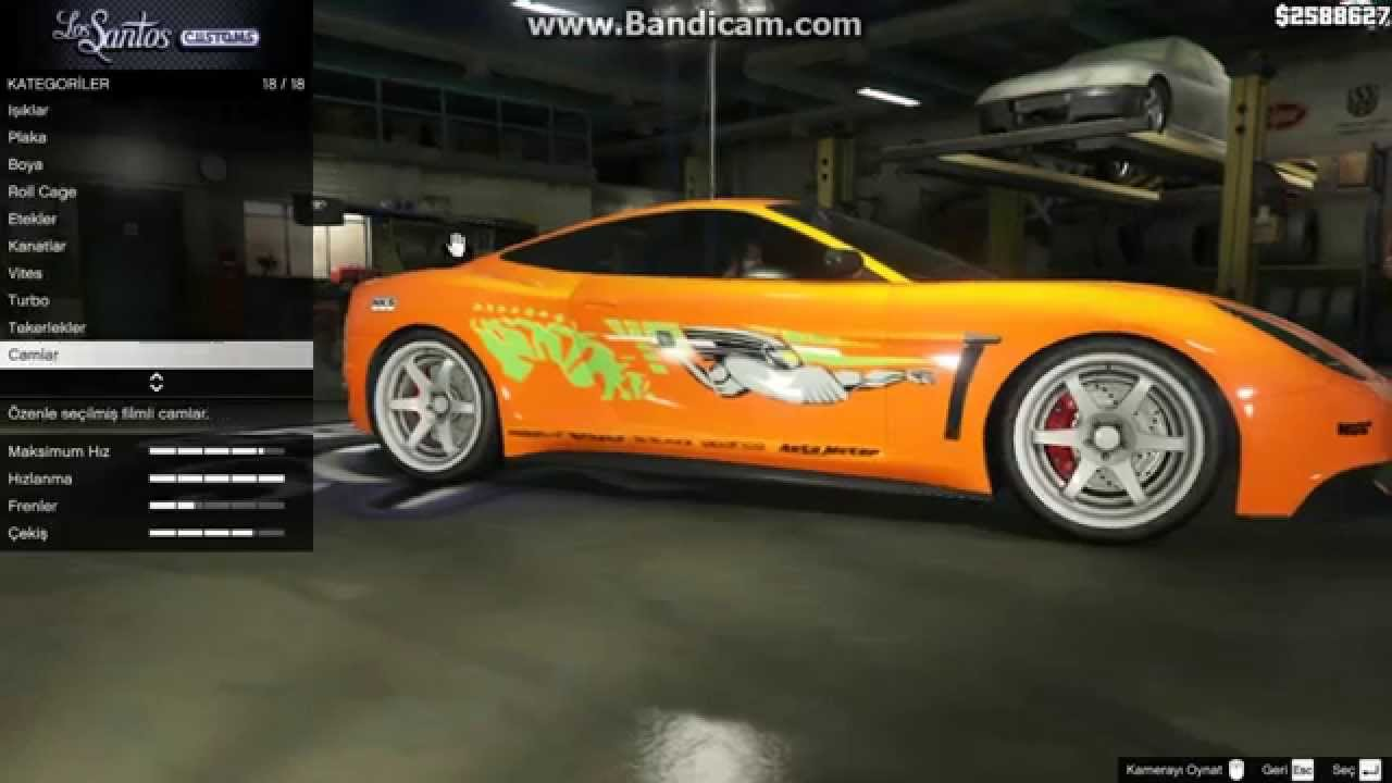 GTA V Brian O'Conner's Supra - YouTube