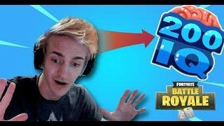 200 IQ..!!! Fortnite Best/Funny Moments (Fortnite Battle Royale)