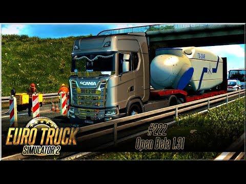 """Euro Truck Simulator 2 - #222 """"Open Beta 1.31"""""""