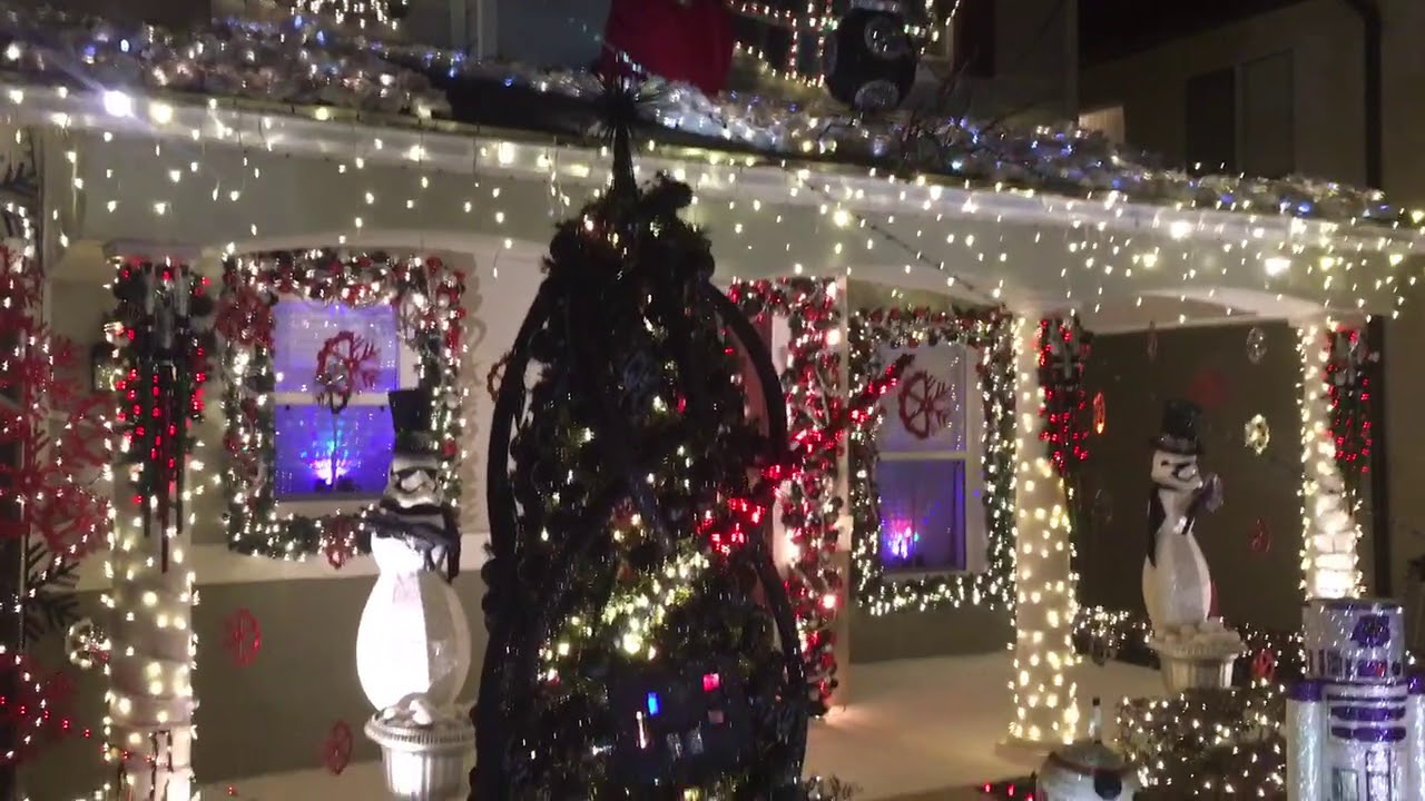 star wars christmas house display 2017 decorations