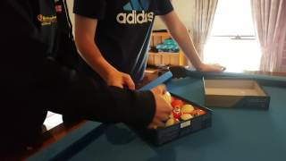 $400 dollar pool balls unboxing!! Super aramith pro 2,1/4 inch
