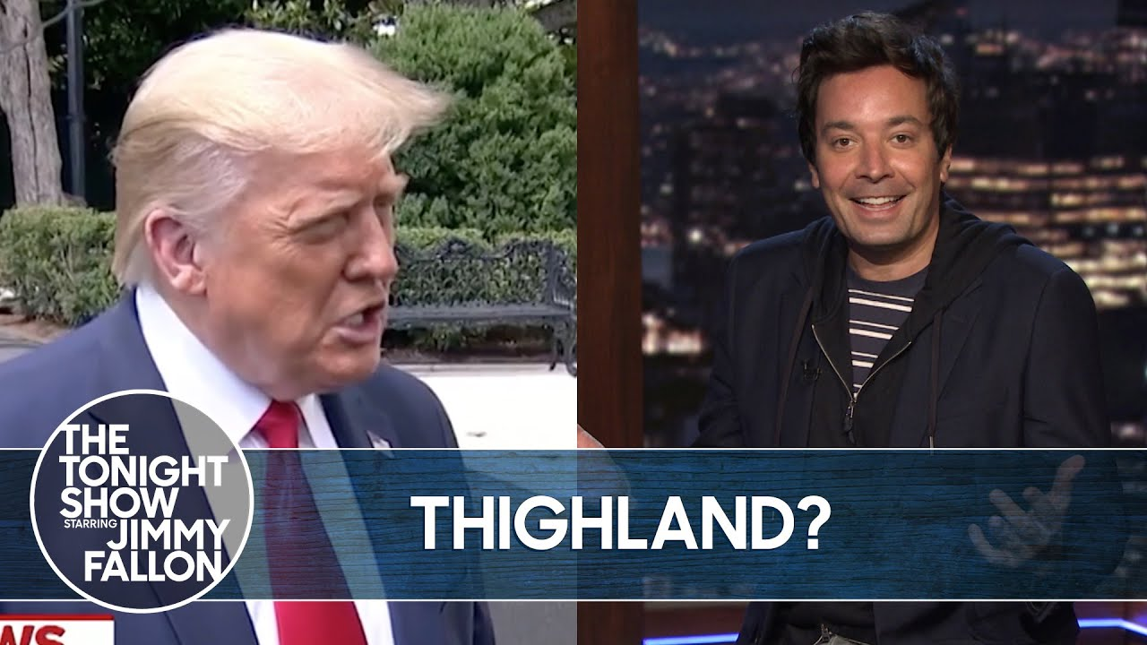 Download Trump Mispronounces Thailand, Backs NRA | The TonightShow