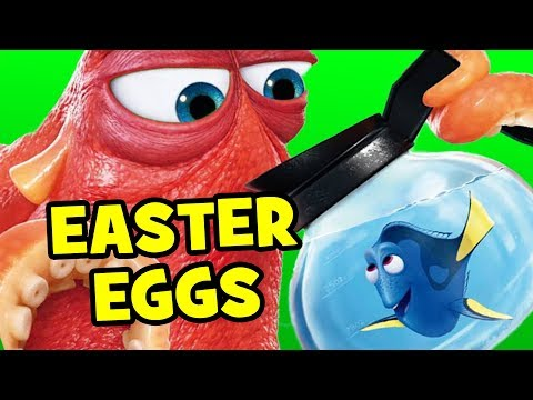 Finding Dory EASTER EGGS, PostCredits & Secret Cameos Explained