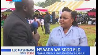 Mwakilishi wa kina mama Shollei aongoza shugli ya kuwapa sodo wasichana Eldoret
