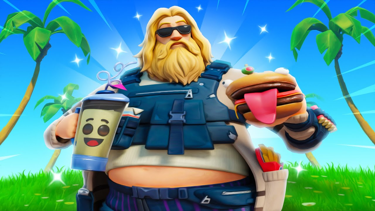 THICCEST DAD IN FORTNITE!