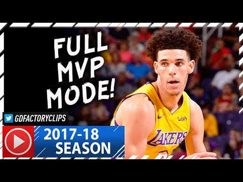 Lonzo Ball INSANE Full Highlights vs Suns (2017.10.20) - 29 Pts, 11 Reb, 9 Ast, MVP MODE!