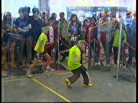 香港浸信會聯會小學-小型壁球大獎賽「體育世界」片段 - YouTube