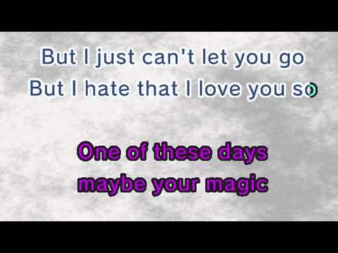 Rihanna - Hate That I Love You (Karaoke and Lyrics Version)