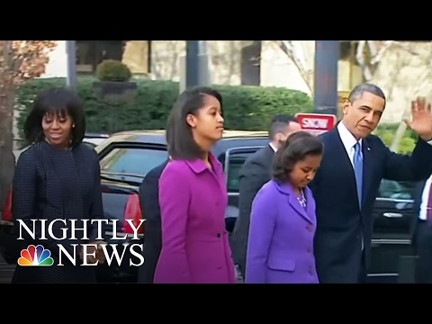 Malia Obama Graduates From High School | NBC Nightly News