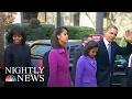 Malia Obama Graduates From High School | NBC Nightly News