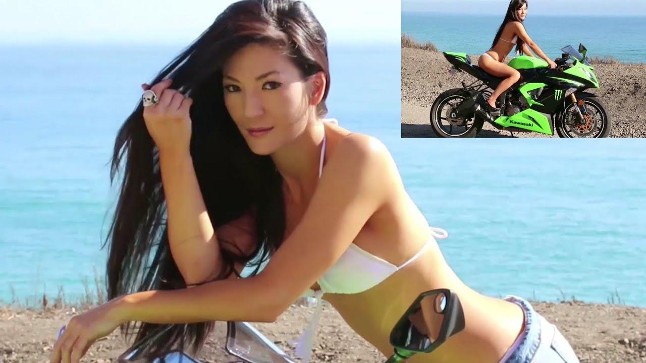 The Kawasaki NINJA 636 w/ M4 Exhaust & The Sexy Asian Girl (Teaser 1)