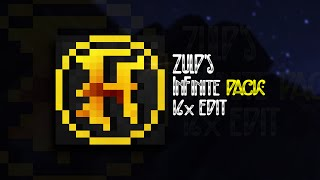InFinite 16x PvP Texture Pack Edit - Custom GUI, Dark Stone, Low fire | zulp
