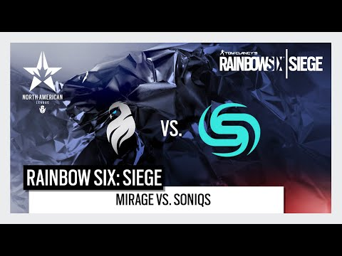 Rainbow Six North American League: North American Major Qualifiers - Mirage Vs. Soniqs