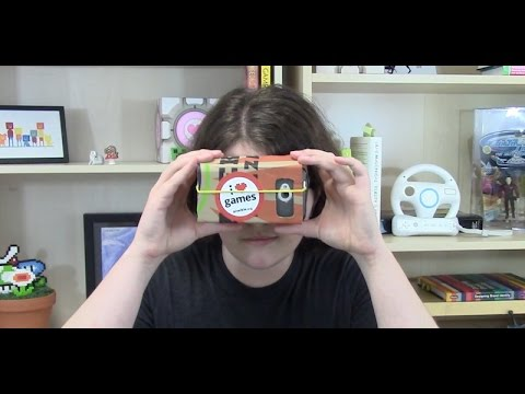 How to Make a VR Headset Out of Cardboard