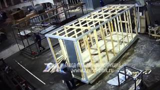 видео Блок-контейнеры для штаба строительства