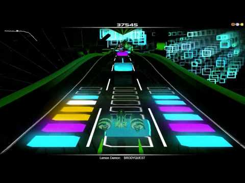 "Lemon Demon- ""Brodyquest"" Audiosurf"