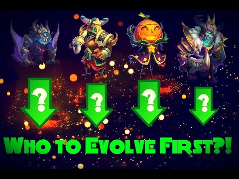 Castle Clash; Evolving Hero's - Who To Evolve First?!