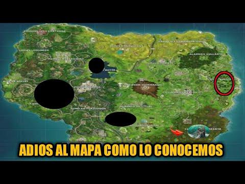 El Mapa De Fortnite Esta Desapareciendo Inicio Temporada 5