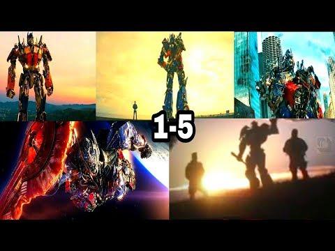 TransFormers - All Optimus Prime Ending Speeches (1-5)