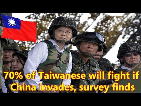 70 Percent of Taiwanese Will Fight If China Invades, Survey Finds