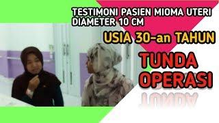 Operasi Pengangkatan Rahim Histerektomi Pada Mioma Uteri. Video Edukasi Dokter Mancing.