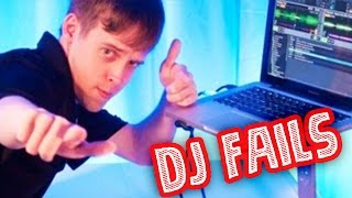 TOP 10 DJs FAILS Y TROLLS | DJ rompe MACBOOK  !!!