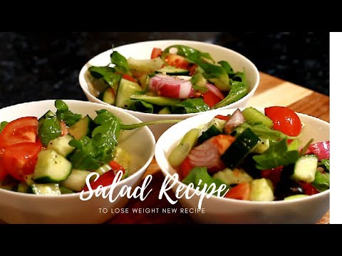 1 Healthy Lunch Ideas To Lose Weight, Easy Healthy Recipes  Home | Ready To Eat Salad Recipe !! thumbnail