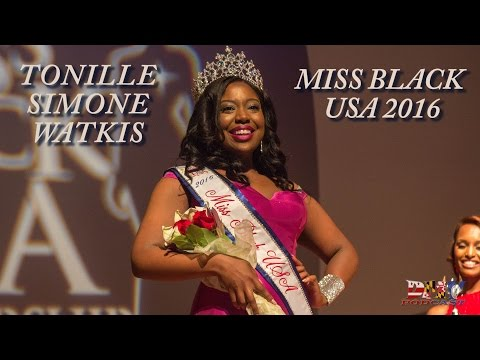Miss Black USA 2016 Crowning Moment