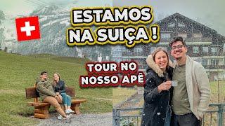 TOUR PELO NOSSO APARTAMENTO NA SUÍÇA 🇨🇭