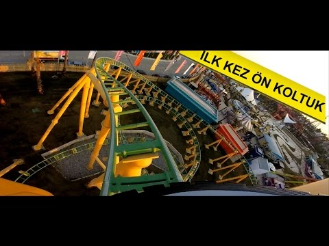 Viaport Tuzla Marina Family Coaster - Roller Coaster ilk kez ön koltuk front seat Viasea